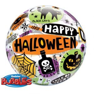 "22"" / 56cm Halloween Messages & Icons Qualatex #43433"