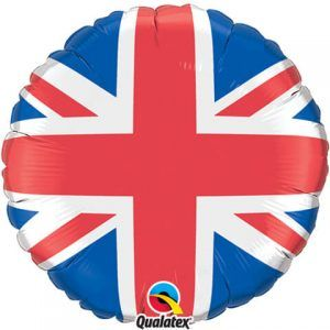 "18"" / 46cm Union Jack Qualatex #44979"