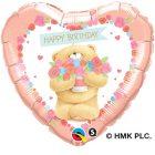 "18"" / 46cm Forever Friends - Birthday Bear Qualatex #45353"