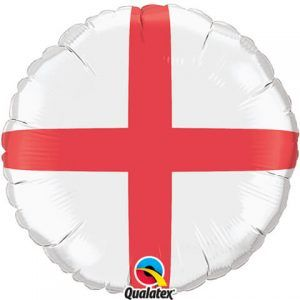"18"" / 46cm St. George's Cross Qualatex #75684"
