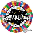 "18"" / 46cm Congratulations Grad Cap Qualatex #93437"