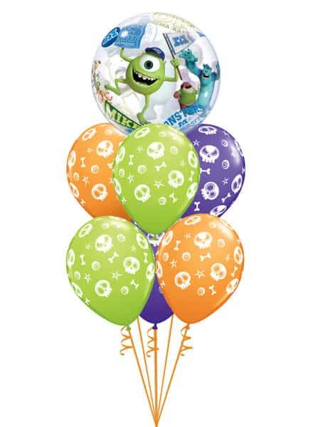 """Bukiet 369# - 22"""" / 56cm Disney Pixar Monsters University Qualatex #44711, 46510_6"""