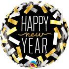 """18"""" / 46cm New Year Confetti Strips Qualatex #43531"""
