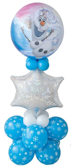 "Bukiet 440# - 22"" / 56cm Disney Frozen Qualatex #32688, 20263, 33531_8, 43553_4, 43607_4"