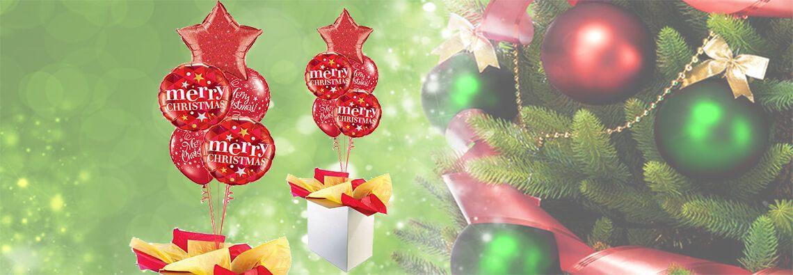 poczta-balonowa-bukiet-premiem-swiateczna-merry-christmas-czerwona