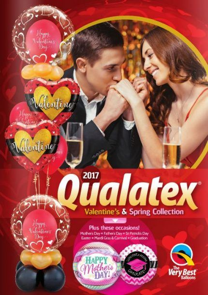 Qualatex Valentine's and Spring Collection 2017