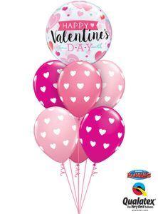 Bukiet 490# - 22″ / 56cm Valentine's Arrows & Hearts Qualatex #46048, 27051_6