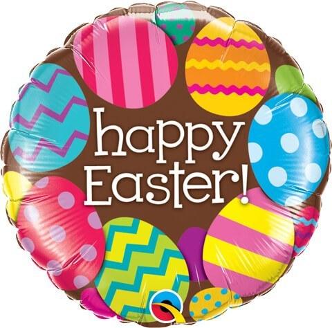 "18"" / 46cm Easter Eggs & Chocolate Qualatex #13243"
