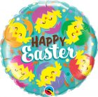 "18"" / 46cm Happy Easter Hatched Chicks Qualatex #24013"