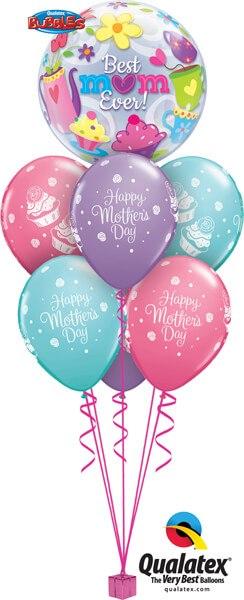 Bukiet 539 Sweet Mum Cupcakes Qualatex #11539 11978-6