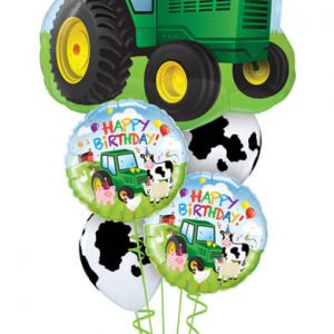 Bukiet 530 Happy Birthday Tractor Qualatex #16468 29612 11633