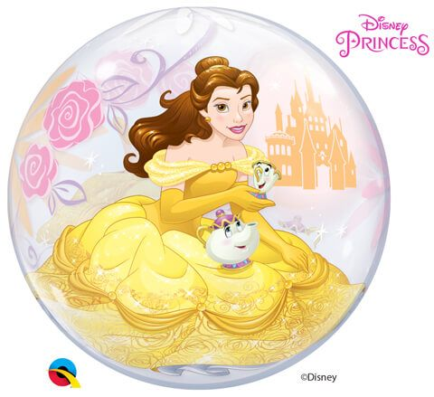 "22"" / 56cm Disney Princess Belle Qualatex #46727"