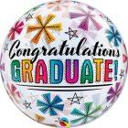 "22"" / 56cm Congratulations Graduate & Stars Qualatex #47364"