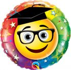 "18"" / 46cm Smiley Graduate Qualatex #47407"