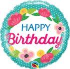 "18"" / 46cm Birthday Petite Polka Dots Qualatex #49158"