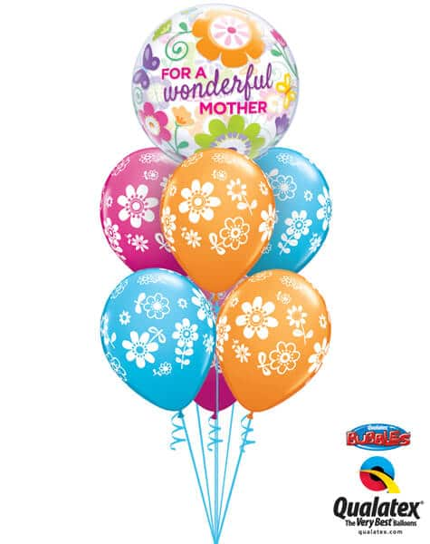 Bukiet 569 Wonderful Mother Flowers Qualatex #11538 41873-6