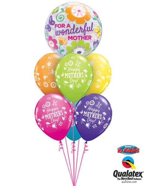 Bukiet 570 Wonderful Mother's Day Qualatex #11538 24366-6