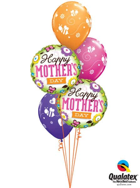 Bukiet 589 Spring Mother's Day Qualatex #13228-2 48922-3