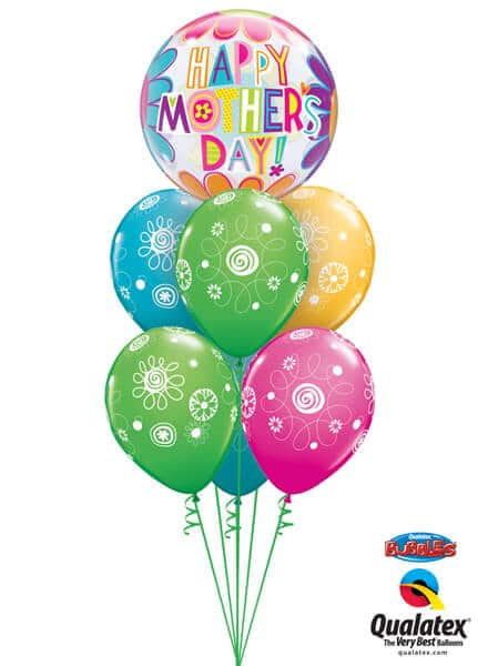 Bukiet 577 Mother's Day Big Flowers Qualatex #47601 48371-6