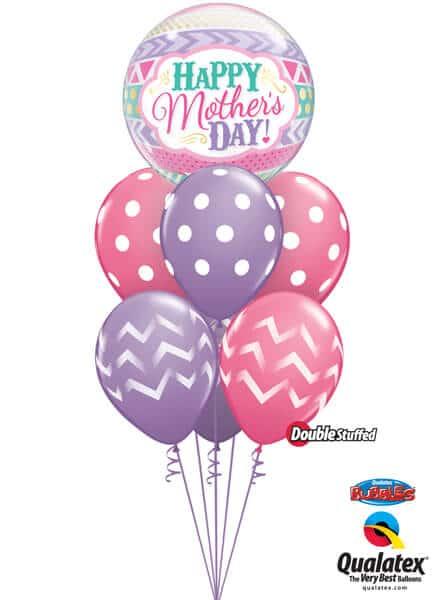 Bukiet 575 Pastel Mother's Day Qualatex #47636 14248-3 45389-3