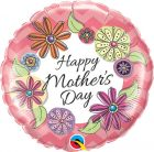 18″ / 46cm Mother's Day Fashion Floral Qualatex #24035