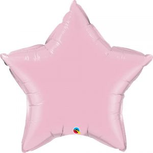 36″ / 91cm Solid Colour Star Pearl Pink Qualatex #74631