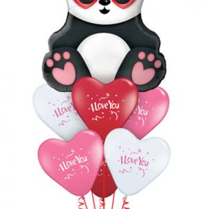 "Bukiet 713 ""I Love You"" Panda #54882 27506-6"