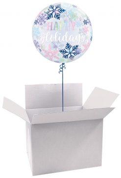 """22"""" / 56cm Poczta Balonowa Świąteczna Premium z Balonem Bubble"""