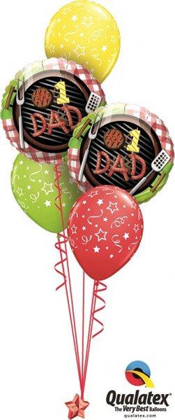 Bukiet 381 #1 Dad Grill Qualatex #41821-2 46110-3