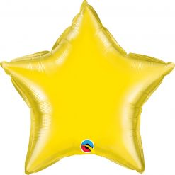 20″ / 51cm Solid Colour Star Yellow Qualatex #12627