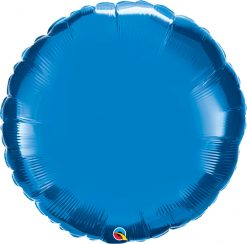 36″ / 91cm Solid Colour Round Sapphire Blue Qualatex #12679