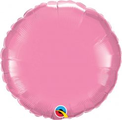 18″ / 46cm Solid Colour Round Rose Qualatex #12910