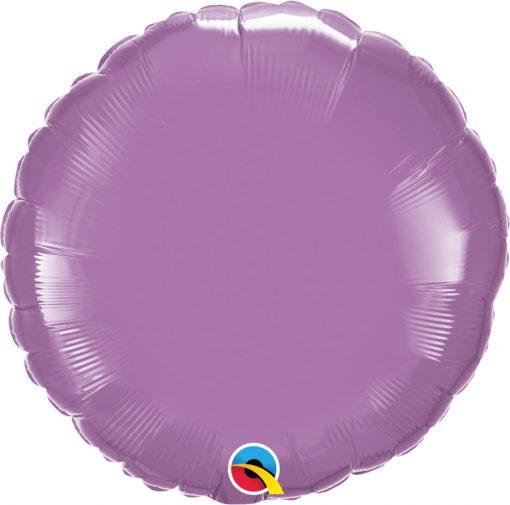 18″ / 46cm Solid Colour Round Spring Lilac Qualatex #12911