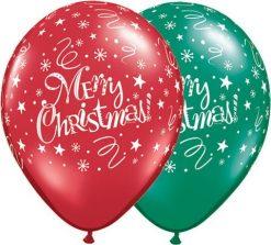 """11"""" / 28cm Christmas! Festive Qualatex #14610-1"""