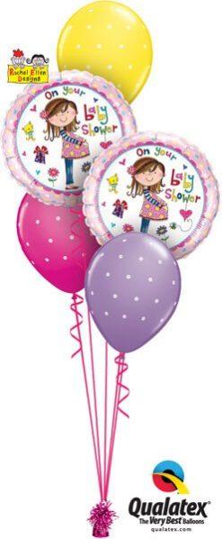 Bukiet 550 Beautiful Baby Shower Qualatex #14970-2 18464-3