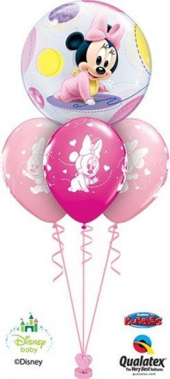 Bukiet 373 Disney Baby Minnie Qualatex #16430 42843-3