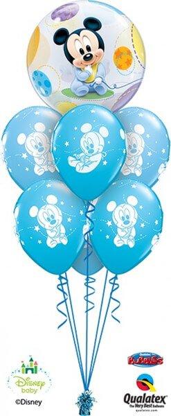 Bukiet 374 Disney Baby Mickey Qualatex #16432 42839-6