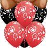 Bukiet 687 Cuddy-Wuddly Valentine Bear #16453 11123-6