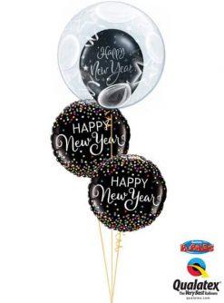 Bukiet 627 Balloon Year's Day Qualatex #16661 52891-2 40567