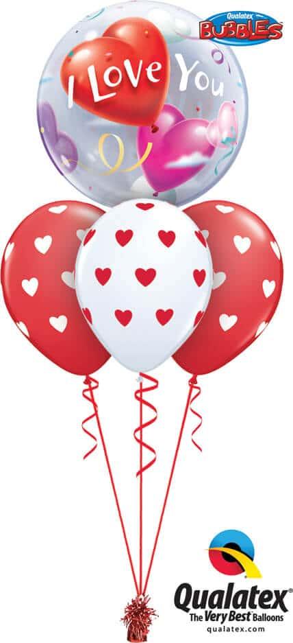 Bukiet 691 I Love You Hearts #16676 76928-3