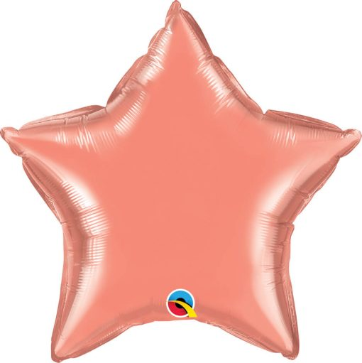 20″ / 51cm Solid Colour Star Coral Qualatex #17374