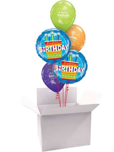 """18"""" / 46cm Poczta Balonowa na Urodziny Bukiet Classic #Bukiet Classic Urodziny"""