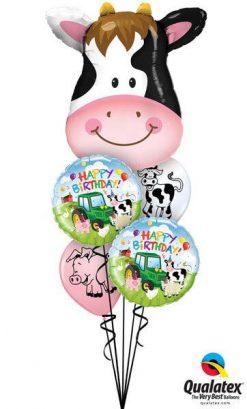 Bukiet 173 Contented Cow Qualatex #16455 29612-2 76477-2