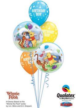 Bukiet 197 Winnie the Pooh & Friends Qualatex #33086-2 20265-3