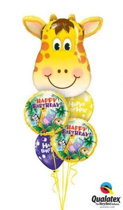 Bukiet 179 Jolly Giraffe Qualatex #16095 31014-2 17919-2