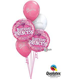 Bukiet 529 Princess & Pink Qualatex #34805-2 90395-3