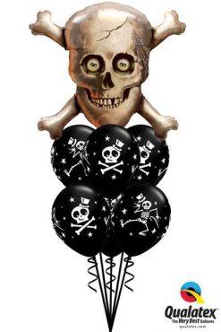 Bukiet 67 Skull & Cross Bones Qualatex #15182 33249-6