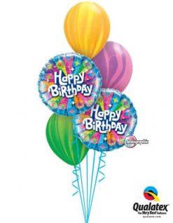 Bukiet 295 Birthday Radiance Blue Qualatex #41611-2 91541 91543 91539