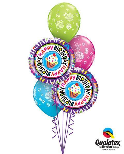 Bukiet 23 Happy Birthday Repeat Cupcake #41635-2 31227-3