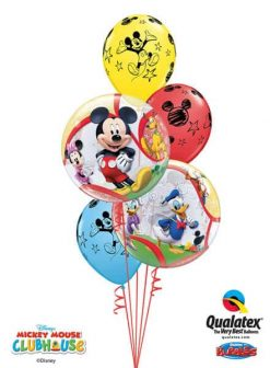 Bukiet 4 Disney Mickey & His Friends Qualatex #41067-2 18688-3